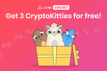 CryptoKitties Giveaway with Lumi Collect