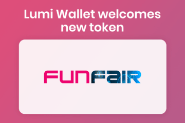 Buy FUN in Lumi Wallet