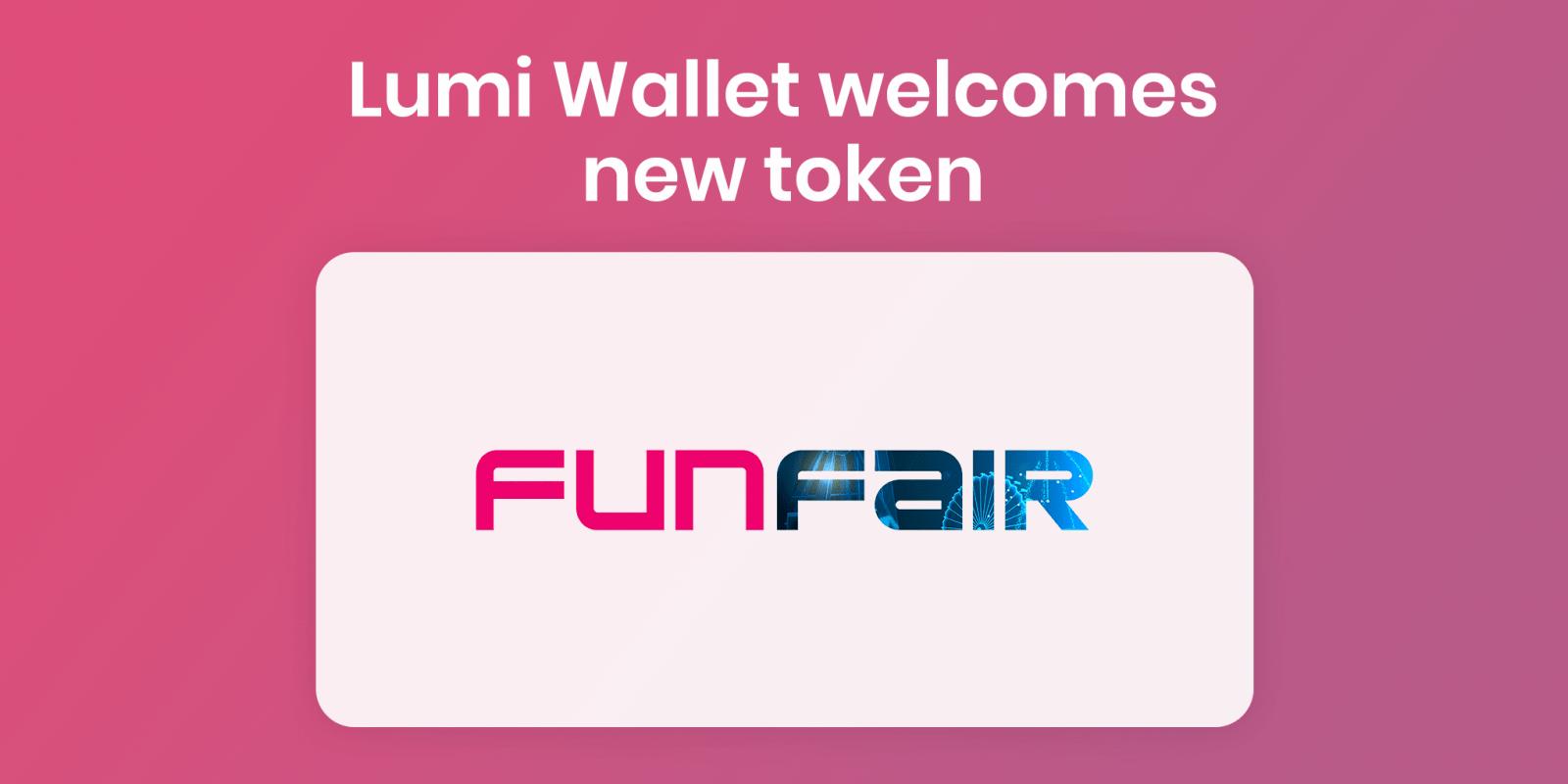 Buy FUN in Lumi Wallet