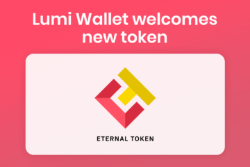 Manage XET in Lumi Wallet