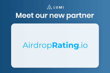 partnership between lumi wallet and airdroprating