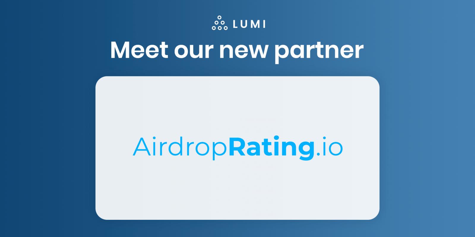partnership between lumi wallet and airdroprating
