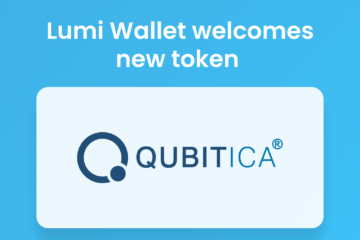 QBIT token in Lumi Wallet