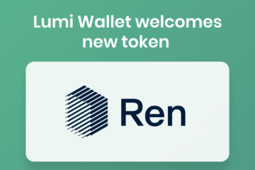 ren crypto and lumi wallet