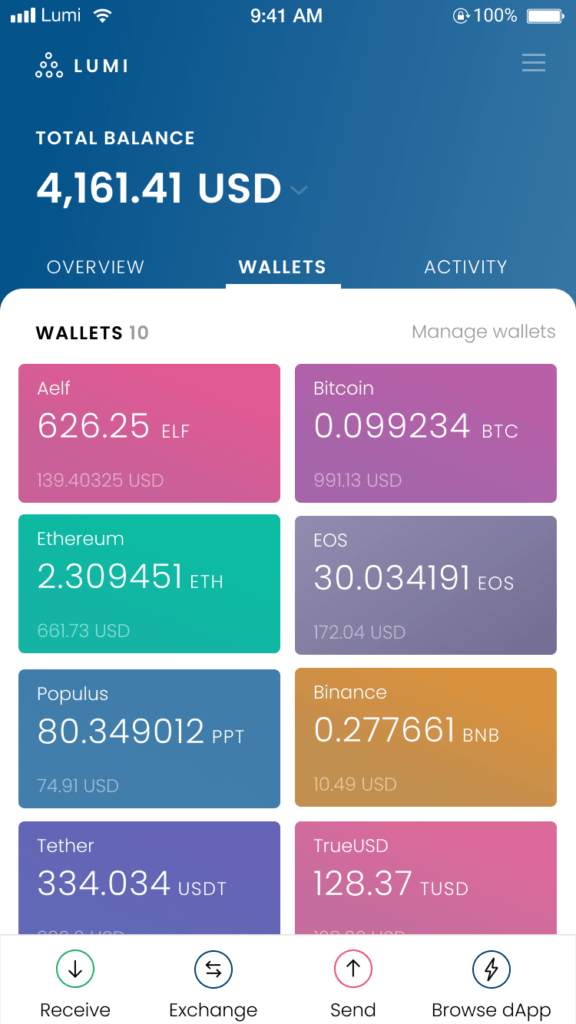 AELF and Lumi Wallet