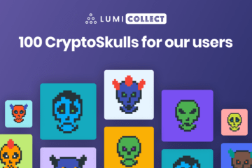CryptoSkulls crypto art in Lumi Collect