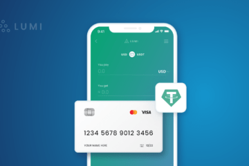 Buy Tether USDT with Your Credit Card in Lumi Wallet