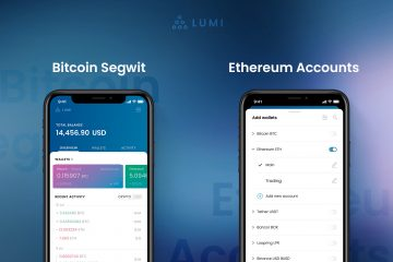 New update in Lumi - Bitcoin SegWit and multiple ETH Accounts